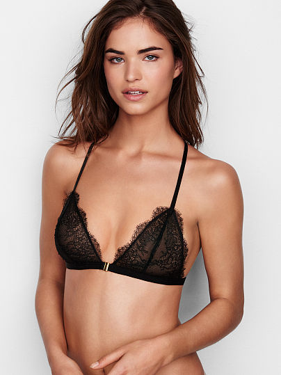 Новинка! Chantilly Lace Unlined Triangle Bra ID3492487