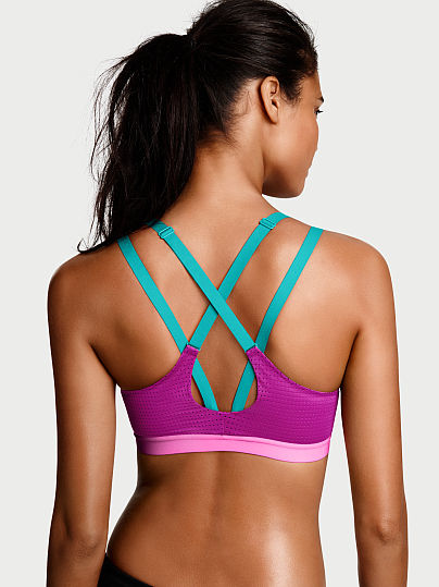 Новинка! Lightweight by Виктория Сикрет Strappy-Back Sport Bra ID3464871