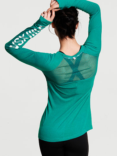 Новинка! The Player by Victorias Secret Long-sleeve Tee