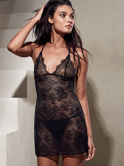 Новинка! Chantilly Lace Strappy Slip ID3481714