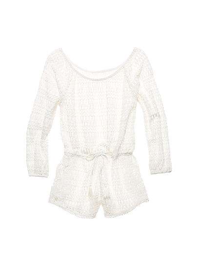 Новинка! Long-sleeve Cover-up Romper ID3492129
