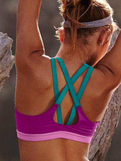 Новинка! Lightweight by Victoria's Secret Strappy-Back Sport Bra