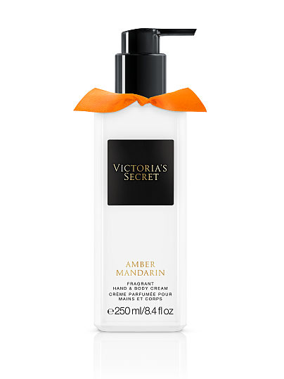 Новинка! Amber Mandarin Fragrant Hand & Body Cream