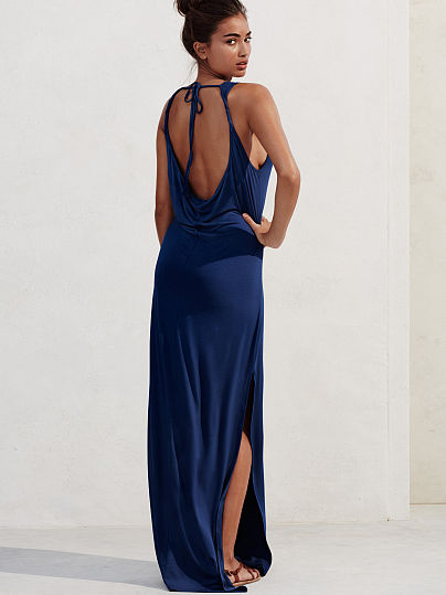 Новинка! Cowl-back Cover-up maxi